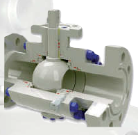 BALL VALVE METAL to METAL SEAL TRUNNION & FLOATING